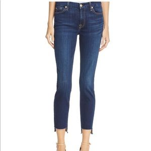 7 for All Mankind Skinny Ankle in Duchess